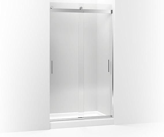 Kohler Levity - Puerta de ducha (plata pulida): Amazon.es: Hogar