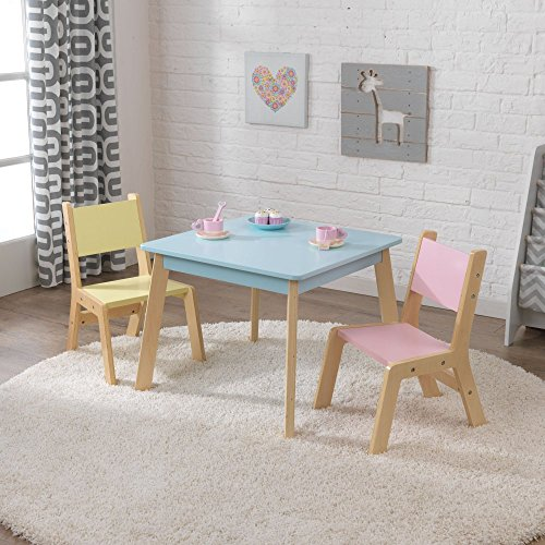 KidKraft 3 Piece Modern Table and Chair Set