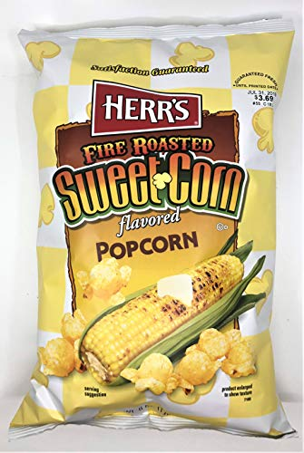 - Herr's Fire Roasted Sweet Corn Popcorn 4-Pack- 6 oz. Bags