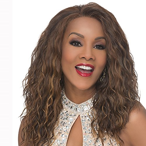 O-V Lace Front Wig, New Futura Synthetic Fiber in Color FS427 ()