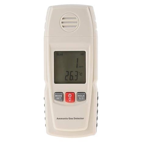 GM8806 0-40℃ Herramienta de Medición del Detector de Gas de Amoniaco de Pantalla