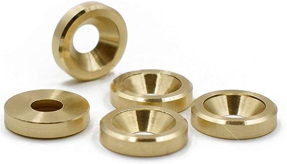Amazon.com: Ochoos 5Pcs M3 M4 M5 M6 Brass Washer countersunk Head Gasket Copper Metal gaskets Meson Flat Screw washers 8mm-14mm Outside Diameter - (Inner Diameter: M6x14mmx3mm (5Pcs)): Home Improvement