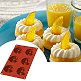 newhouse 100% food grade silicone mold Savarin, cakes, biscuits, fructose mold, bread pan