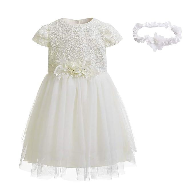 Amazon.com: NIMBLE - Vestido de fiesta formal para bebé con ...