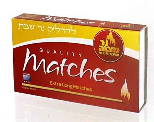 Calidad Extra larga cocina Matches–1Pack de 45Matches
