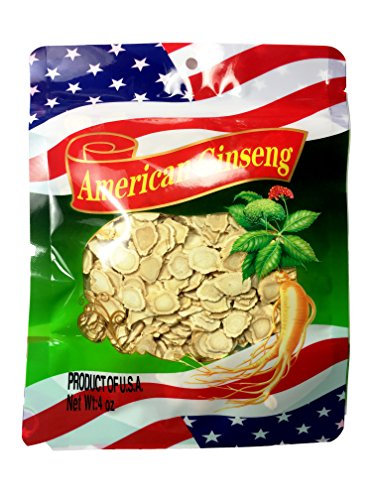 - Premium American Cultivated Ginseng Slice, Ginseng Slice, Round Slice, High Quality, Hand Selected, Grade A (4oz / .25lb Bag)
