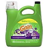 Gain Aroma Boost Liquid Laundry Detergent With Febreze Freshness, Moonlight Breeze, 96 Loads 4.43 Liter