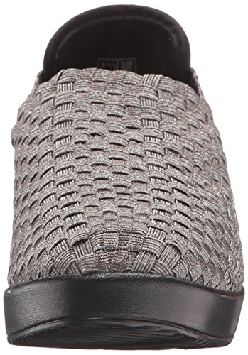 Women's Mev On Slip Cha Cha Smooth Bernie Loafer Gris plomizo 47pOqvwx