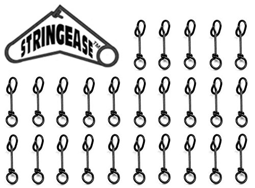 Fastach Clips 25 Pack Stringease Fast Snaps Quick Snap Size 2 Ice Fishing Clips 50lb ()