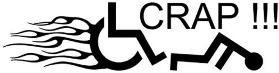 5 Piezas 22.9Cmx5.7Cm Etiqueta De Calcomanía Para Silla De Ruedas Handicap Car Sticker Y Vinyl Car Styling