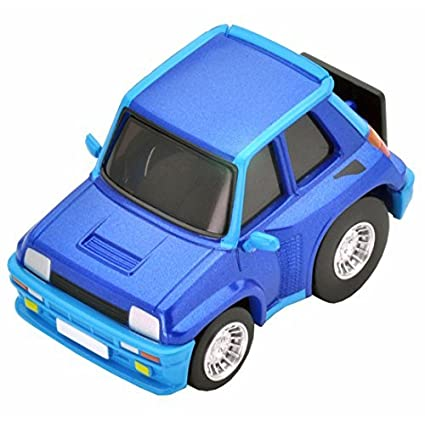 Japan Import Choro Q zero Z-50b Renault 5 Turbo (blue)