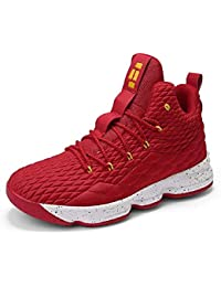 Womens Mens Fashion Basketball Shoes Wear Resistant Flyknit Sneakers