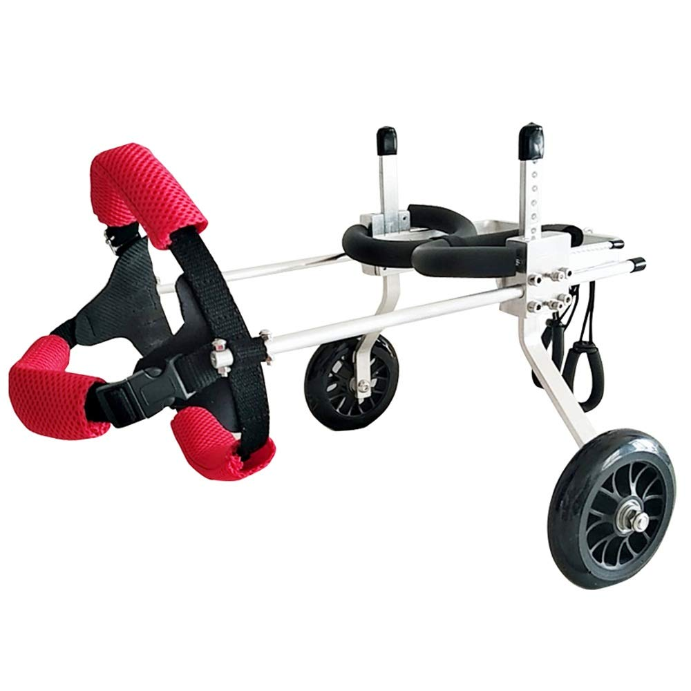 HQSW JL BB Dog Wheelchair - Hind Walker Pet Disability Assistance Dogs Hind Legs - Small Dog Stand A++ (Size : Xs) by HQSW JL