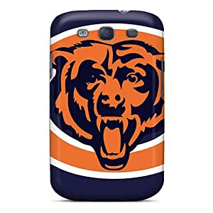 Tpu Pando Case Shockproof Scratcheproof Chicago Bears Hard Case Cover For Galaxy S3