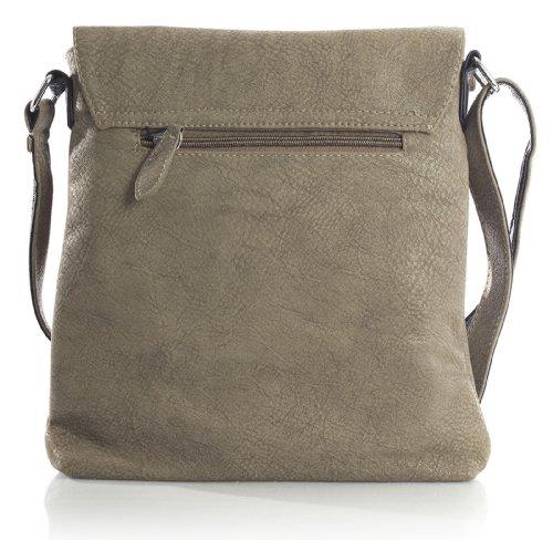 Flap Big Bag Body Cross Womens Handbag Opening Vegan Messenger Pink Shoulder Leather Shop OBBqw6x