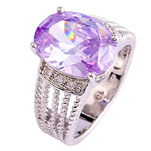 Narica-Womens-Charming-Oval-Cut-Amethyst-White-Topaz-Twisted-Band-Cocktail-Ring