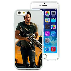 Mark Wahlberg In Transformers White Fantastic Recommended Customized iPhone 6 4.7 Inch TPU Phone Case