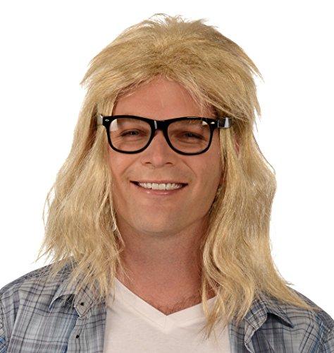 Garth Wig & Glasses (Wayne Garth Costumes)