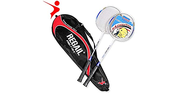 Amazon.com : Mubenji Adminton Racket, Professional Badminton Racquet with Bag for Outdoor : Sports & Outdoors