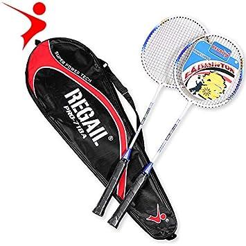 Mubenji Adminton Racket, Pala de bádminton Profesional con Bolsa ...