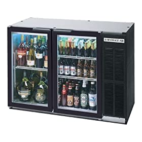 Beverage-Air BB48GY-1-B 48″ Black Undercount...