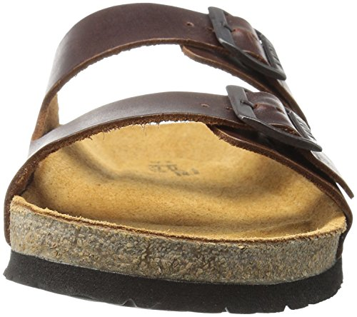 Men NAOT Barbara Santa Flat Brown Sandal 6w1CnY4