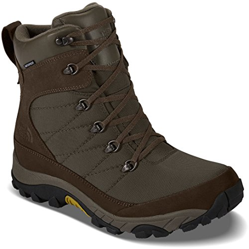 De North Face Chilkat Nylon Boot Mens (9,0, Weimaraner Brun / Antik Mossa Grön)