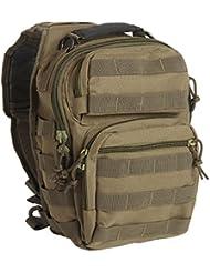 Mil-Tec Single Shoulder Strap 10L OD Green Tactical Assault Backpack - 14059101