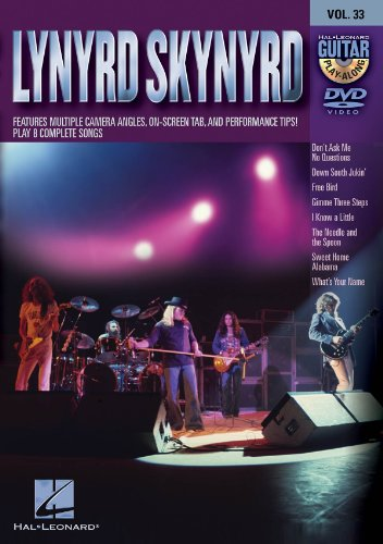 Lynyrd Skynyrd - Guitar Play-Along DVD Volume 33