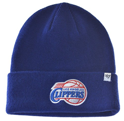 NBA Los Angeles Clippers Beanie Knit Hat-47 brand-blue