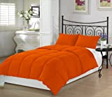 Orange Crush Twin Extra Long Comforter Set By Ivy Union