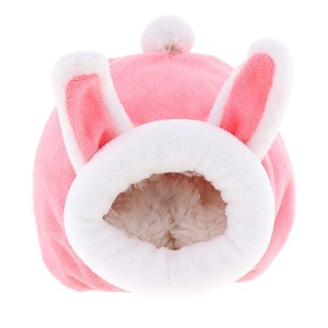 Alfombra de algodón Suave y cálida, para hámster, Conejo, Erizo ...