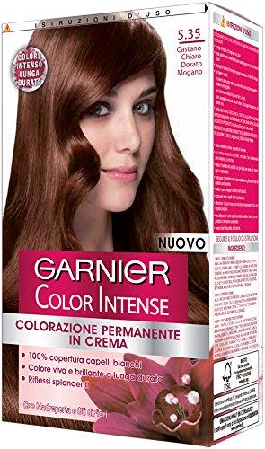 Garnier Color Intense Colorazione Permanente In Crema 535 Castano Chiaro Dorato