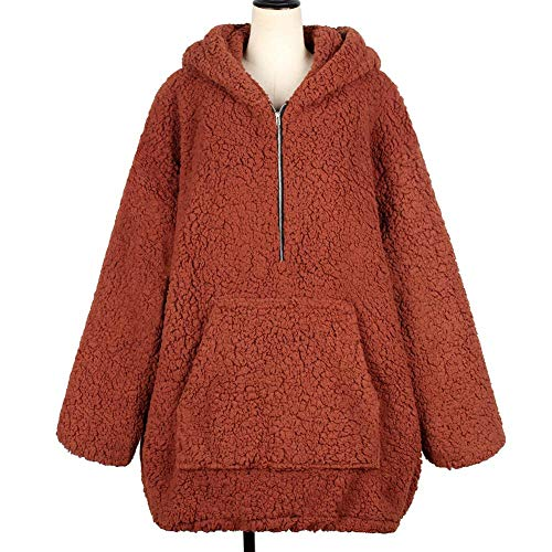 Polaire Pull Enjoyall Casual Pull pour Molleton Femmes Laine Les en Sweatshirts Imitation en wxzRqU