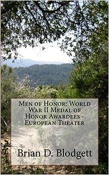 Book Men of Honor: World War II Medal of Honor Awardees - European Theater