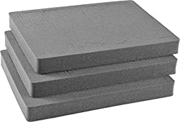 Pelican 1612 3pc Replacement Pick N Pluck Foam Set for 1610 Case