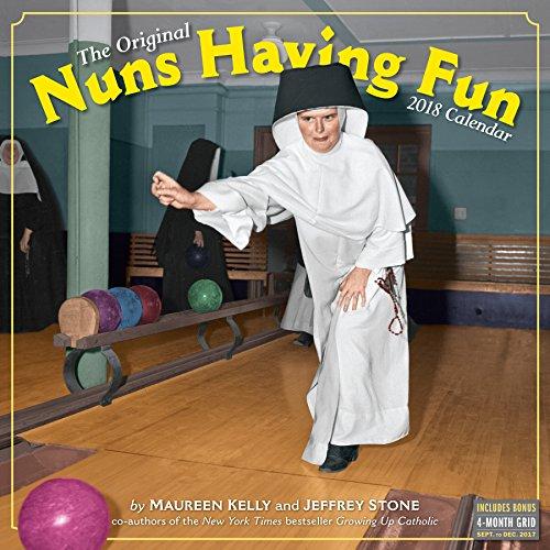 Nuns Having Fun Wall Calendar 2018 (Best Of Comic Con 2019)