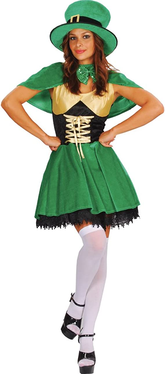 Lucky Leprechaun Fancy Dress Costumes , Small , UK 10,12