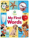 Disney Baby My First Words, Disney Book Group Staff, 1484709152