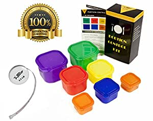 Amazon.com: STAR 7 Piece Portion Control Kit [MULTI