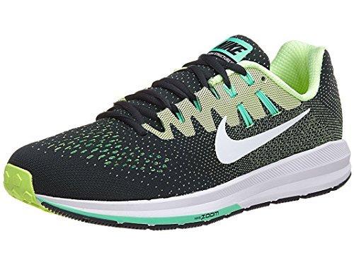 Nike Mens Air Zoom Structure 20 Running Sneakers 849576-300 (11.5, Seaweed/White-Ghost Green) (Ghost Sneaker)