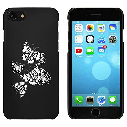 Noir 'Papillons' étui / housse pour iPhone 7 (MC00059603)