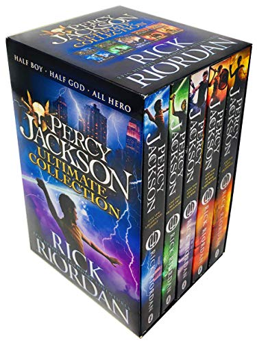 Percy Jackson The Ultimate Collection 5 Books Set Epic Heroes Legendary Adventures by Rick Riordan (Percy Jackson & The Olympians The Last Olympian)