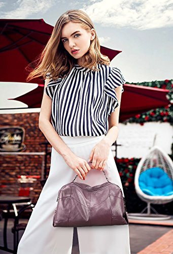 alla 2018 delle Viola moda pacchetto portatile signore borsa spalla Tisdaini mano moda alla a nuova borsa Messenger borsa RXdSn1q