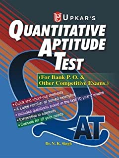 QAT Quantitative Aptitude Test for Bank P. O. and Other Competitive Exams 1st Edition price comparison at Flipkart, Amazon, Crossword, Uread, Bookadda, Landmark, Homeshop18