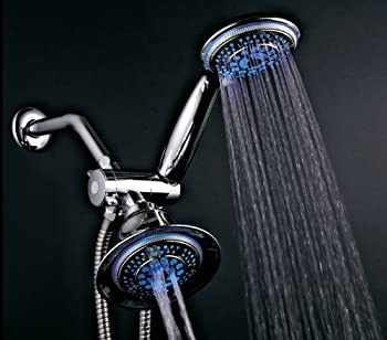 DreamSpa 3-Way LED Twin Shower System