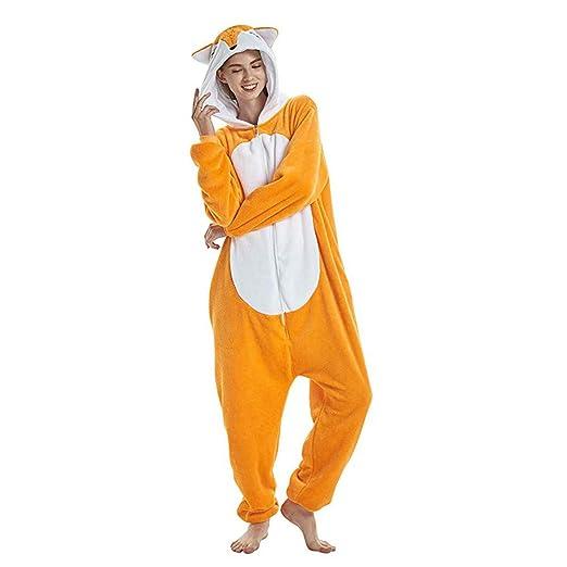 MKLKYY Pijamas de Unicornio Pijamas de UnaPieza Adulto ...