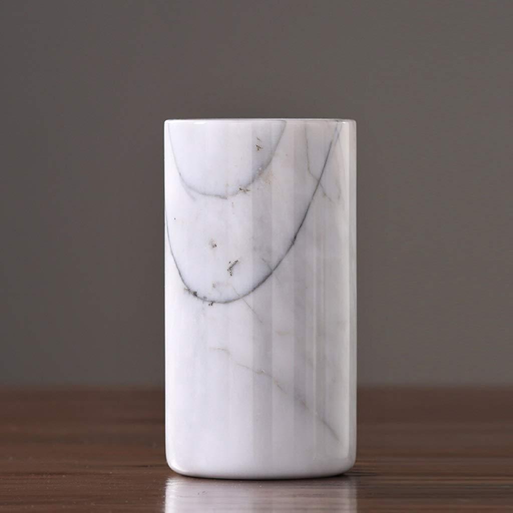 HBJP 大理石の花瓶の装飾家の花瓶の装飾のリビングルームドライフラワーの配置花瓶 花瓶 (Size : 10cm×19cm) B07SHZPZVW  10cm×19cm