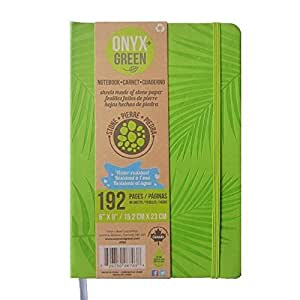 Amazon Com Onyx And Green Eco Friendly Hard Cover