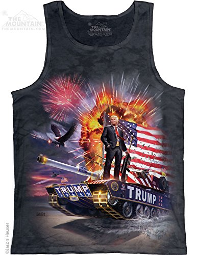 The Mountain Epic Trump Tank Top - Charcoal - Large